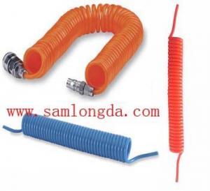 China Polyurethane Spiral coil tube, high pressure pu hose on sale