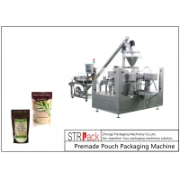 China Chia Seeds Protein Powder Milk Powder Stand-up Zipper Pouch  Pre-Made Pouch Packaging Machine wholesale
