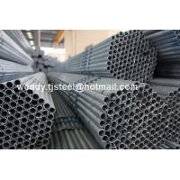 China hollow steel pipe fitting / hot dipped galvanized steel pipe / steel pipe welded on sale