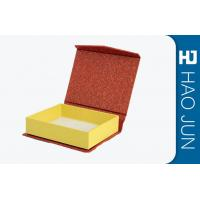 Book Style Recycled Paper Gift Boxes With Magnetic , Gift Wrapping Boxes