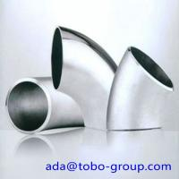 China A403 WP316 Stainless Steel Elbows SCH10 - SCH160 XXS 45 90 180 Degree wholesale