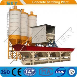 China Skip Hopper Feeding System HZS25 Concrete Batching Plant wholesale