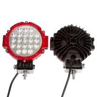 "China 63W 7"" Spot LED Work Light 6000K Driving for ATV Jeep Wrangler Car SUV Offroad Pickup 4WD Boat ATV wholesale"