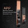 China APP Remote Controlled Fingerprint  Door Lock , Infrared Induction Slide Cover Lock wholesale