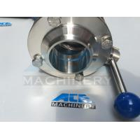 China Stainless Steel Multi-Position Plastic Handle Welded Butterfly Valve (ACE-DF-DH) wholesale