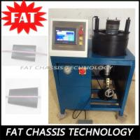 Quality Air Shock Absorber Hydraulic Hose Crimping Machine 380V 4KW Power 100T Crimping for sale