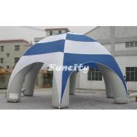 China Travelling / Camping Outdoor Inflatable Tent Durable PVC Tarpaulin 1 Year Warranty on sale