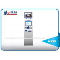 China Free Standing Ticket Selling Kiosk Machine , Parking Ticket Dispenser Machine on sale