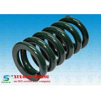 China Green Plating Plastic Molding Equipment Springs High Precision Long Life on sale