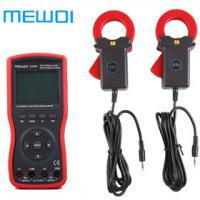 China MEWOI5200B Intelligent Double Clamp Digital Phase Volt-Ampere Meter wholesale