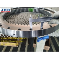 China RKS.162.14.0844 crossed roller Slewing bearing with internal gear 737.6x916x56 mm wholesale