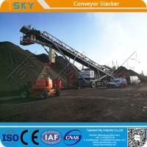 China SGS 16m Crawler Tracks 1000tph Conveyor Stacker wholesale