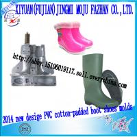 China Hight quality PVC rain boot and cotton-padded shoes  moulds wholesale