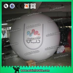 China 2.5m PVC Inflatable Helium Big Sky Balloon Advertising With Logo Printinga wholesale