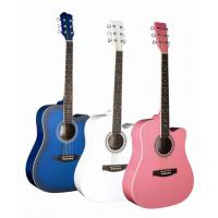 China Basswood plywood Junior left handed acoustic guitar 41 inch TP-AG50C wholesale