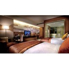 Buy cheap Economic Luxury Villa Bedroom Furniture Ebony Veneer With Leather Sofa from wholesalers