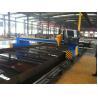 China High Speed 50HZ Strip CNC Plasma Cutting Machine for Steel , 4000mm Track Gauge wholesale