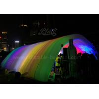 China LED Lighting Inflatable Event Tent 420D Oxford Cloth Inflatable Tunnel Tent wholesale
