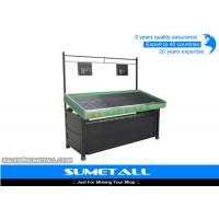 China Customized Steel Fruit Vegetable Display Rack For Retail Stores / Supermarket on sale