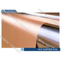 China Single Shiny VLP ED Electrodeposited Copper Foil , hte copper foil roll on sale