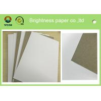 China High Bulking Large Flat Cardboard Sheets , White Black Paper Board For Electronics wholesale