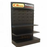 China Big Retail 3 Tier Floor Display Stands Black Available For Commodity Promotion wholesale