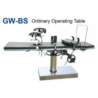 China Side Controlled Manual Surgical Operating Table Of Stainless Steel wholesale