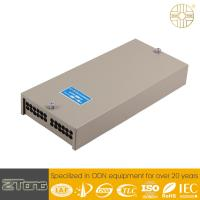 China 24-96F Capacity Optical Network Terminal Box Gray Color IP45 Waterproof Rate wholesale