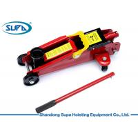 China Rapid Pump Hydraulic Floor Jack , Industrial Hydraulic Jack With Carrying Case wholesale