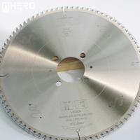 China 120T Pcd Saw Blades , Diamond Tipped Saw Blade Sandwich Soldering Flake wholesale