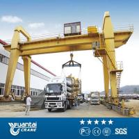 China YT Engineer Avaliable Installation double girder hook gantry crane for sale wholesale
