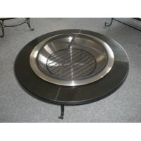 China Marble Top Outdoor Fire Pit Table wholesale