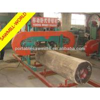 Buy cheap In stock!!! diesel engine kind MJ1000 portable horizontal timber band sawmill product