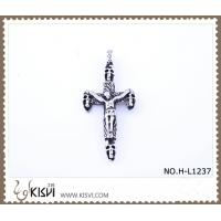China 316 stainless steel pendant with cross shape H-L1237 wholesale