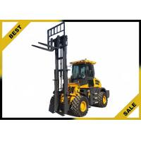 China Strong Power 3.5 Ton Fork Lift Trucks 3500 Kg Rated Load Low Non - Slip Pedal wholesale