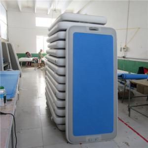 China High Durability Aqua Fitness Mat , Floating Gymnastics Mat For Pool wholesale