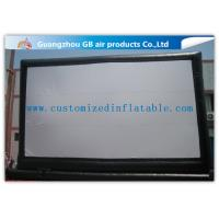 China Giant Outdoor Inflatable Movie Screen Rental , Portable Inflatable Projection Screen wholesale