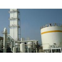 China Low Power Consumption Industrial Liquid Nitrogen / Oxygen Air Separation Unit on sale