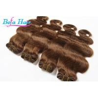 China Wet And Wavy Virgin European Human Hair Extensions with No Shedding wholesale
