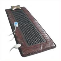 China CE approved germanium stone heating health care massage mattress mat OEM F-8208 wholesale