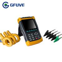 China GFUVE WITH 4PCS 3000A CURRENT PROBE HANDHELD THREE PHASE POWER QUALITY ANALYZER on sale