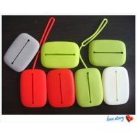 China silicone wallet,fashion lady silicone wallet wholesale