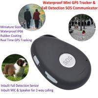Buy cheap Mini Waterproof 3G GSM Personal GPS Tracker Locator Elderly Fall Detection SOS Communicator Alzheimer Keyring EV07 from wholesalers