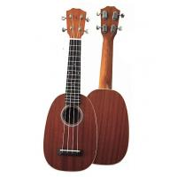 China mini 21 inch Sapele Wood Hawaii Guitar Ukulele Round Type UK668-21 wholesale