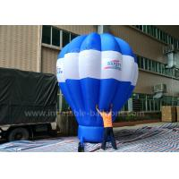 China 5m Tall Inflatable Advertising Ground Balloon / Hot Air Shaped Balloon For Events wholesale