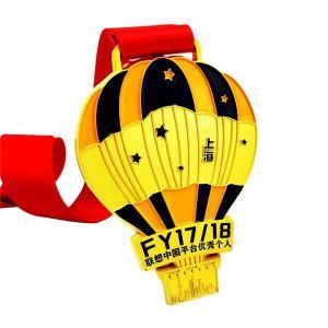 China 3D Marathon Finisher Enamel Custom Running Medals wholesale