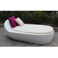 China Outdoor rattan chaise lounger-16201 wholesale