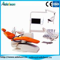 China CE,ISO approved luxury top mounted dental chair unit with 9 memories program on sale