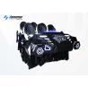Buy cheap Racing Seat Virtual Reality Simulator / 9D 6 Seats Cinema Game Machine from wholesalers