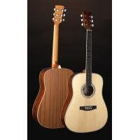 China 41 inch Classic Spruce Western Guitar / Vintage Solid wood Acoustic Guitar For Learners TP-AG52 wholesale
